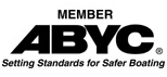 Proud member of the ABYC: American Boat & Yacht Council